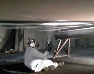 Belzona 1331 epoxy premaz za primjenu sprejanjem ili kistom za zaštitu od erozije i korozije stalno uronjenih površina