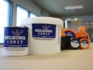 Belzona 1391T premaz za aplikaciju kistom otporan na visoke temperature, eroziju i koroziju u uronjenim uvijetima