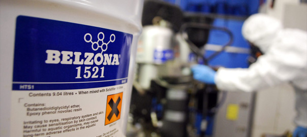 Belzona 1521 (HTS1) epoxy premaz za sprejanje unutarnjih površina otporan na koroziju za opremu u visokotemperaturnim uvijetima rada