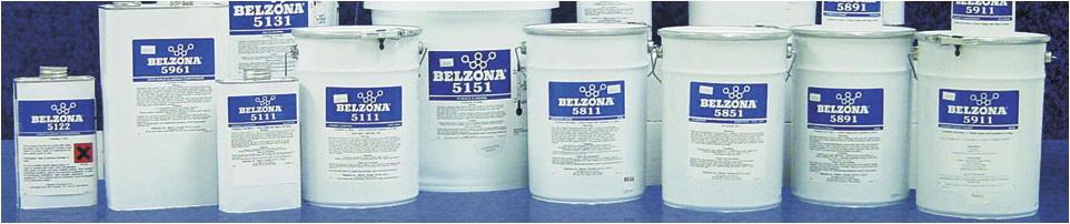 Belzona 5000 serija - Zaštita metala i građe