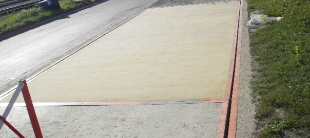 Popravak betonske površine kolne vage