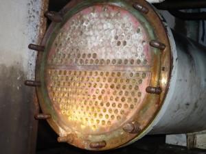 Oštećenja na izmjenjivaču topline