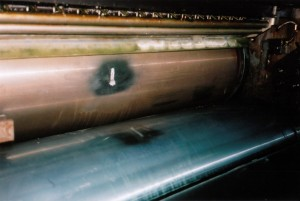 Popravak valjka tiskarskog stroja