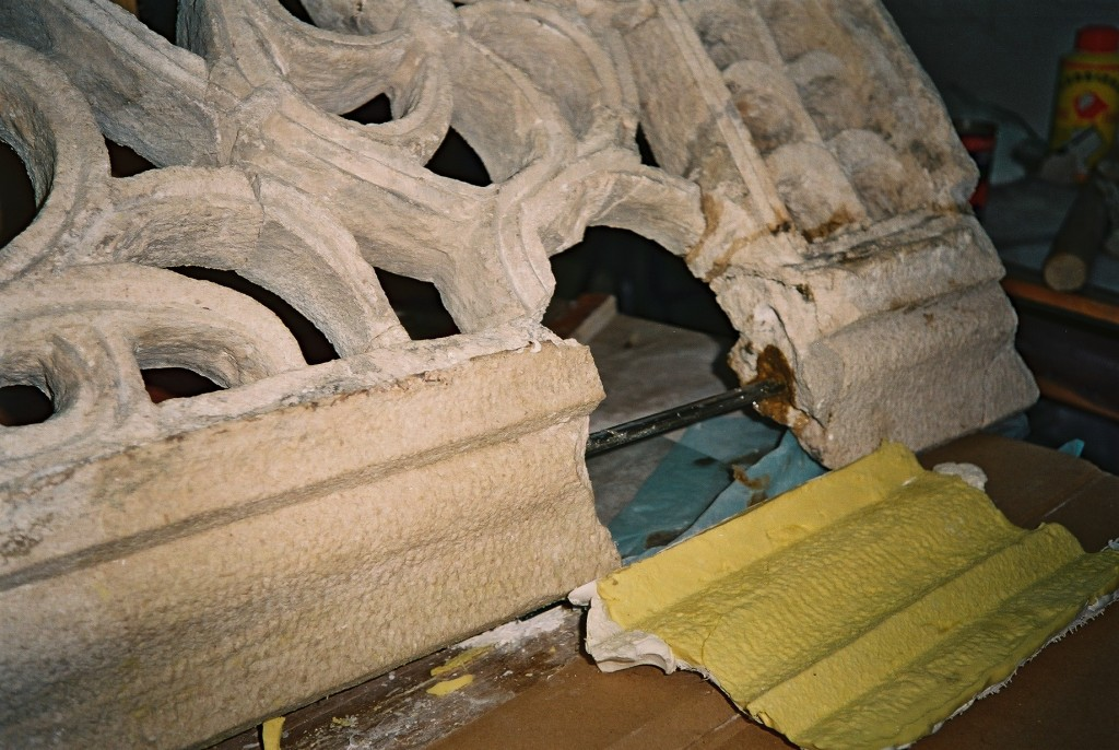 Restauracija tranzene (kamenog prozora crkve), crkva sv. Stjepana (10. st.)