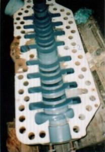 Zaštićena površina pumpe