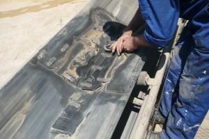 Priprema površine transportne trake