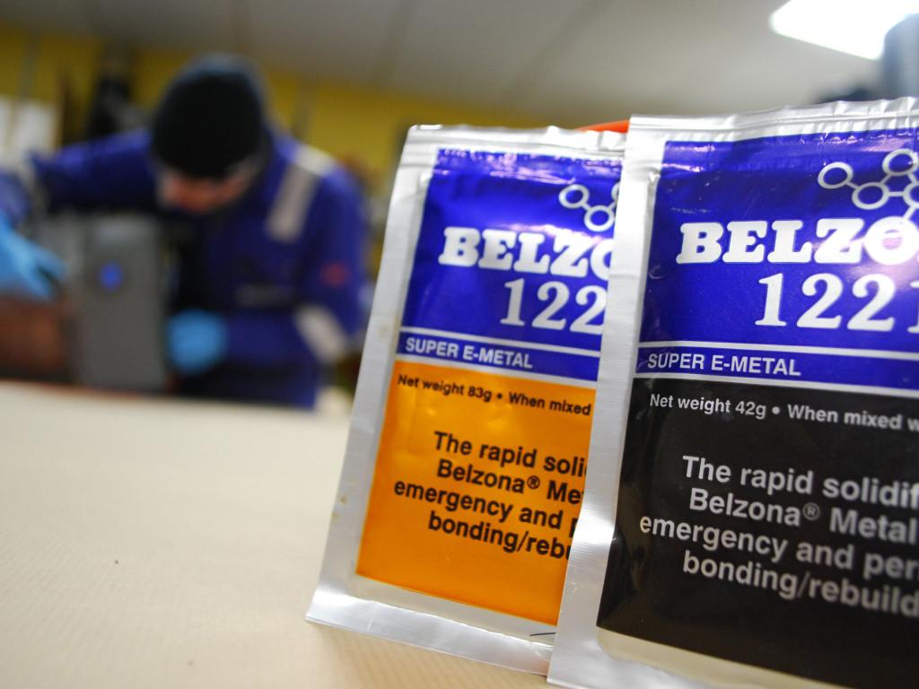 Belzona 1221 (Super E-Metal) brzostezujući kompozit za popravak metalnih površina za hitne i brze popravke