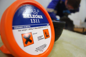 Belzona 1311 (Ceramic R-Metal) epoxy kompozit punjen keramikom za metalne popravke i zaštitu od erozije i korozije