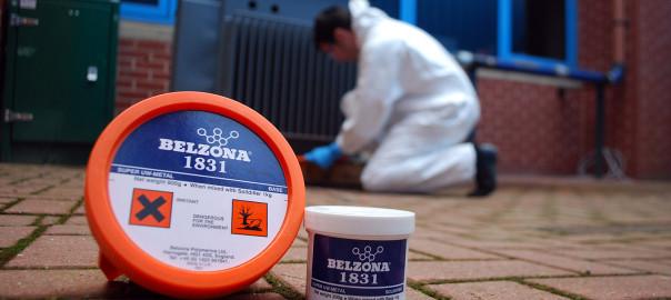 Belzona 1831 (Super UW-Metal) epoxy kompozit za aplikaciju na mokre i masne metalne površine