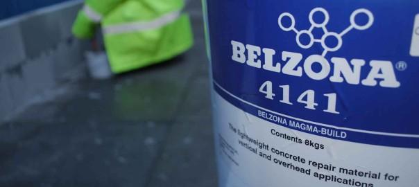 Belzona 4141 (Magma-Build) težinski lak epoxy kompozit za popravak vertikalnih i stropnih betonskih i kamenih površina