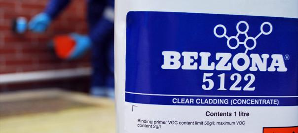 Belzona 5122 (Clear Cladding Concentrate) proziran, vodootporan i paropropustan premaz za zaštitu betonskih površina