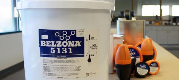 Belzona 5131/5151 (EG Cladding/Hi Build Cladding) vodootporan polimerni premaz za dugotrajnu zaštitu i uljepšavanje vanjskih i unutarnjih i vanjsik zidova i građe