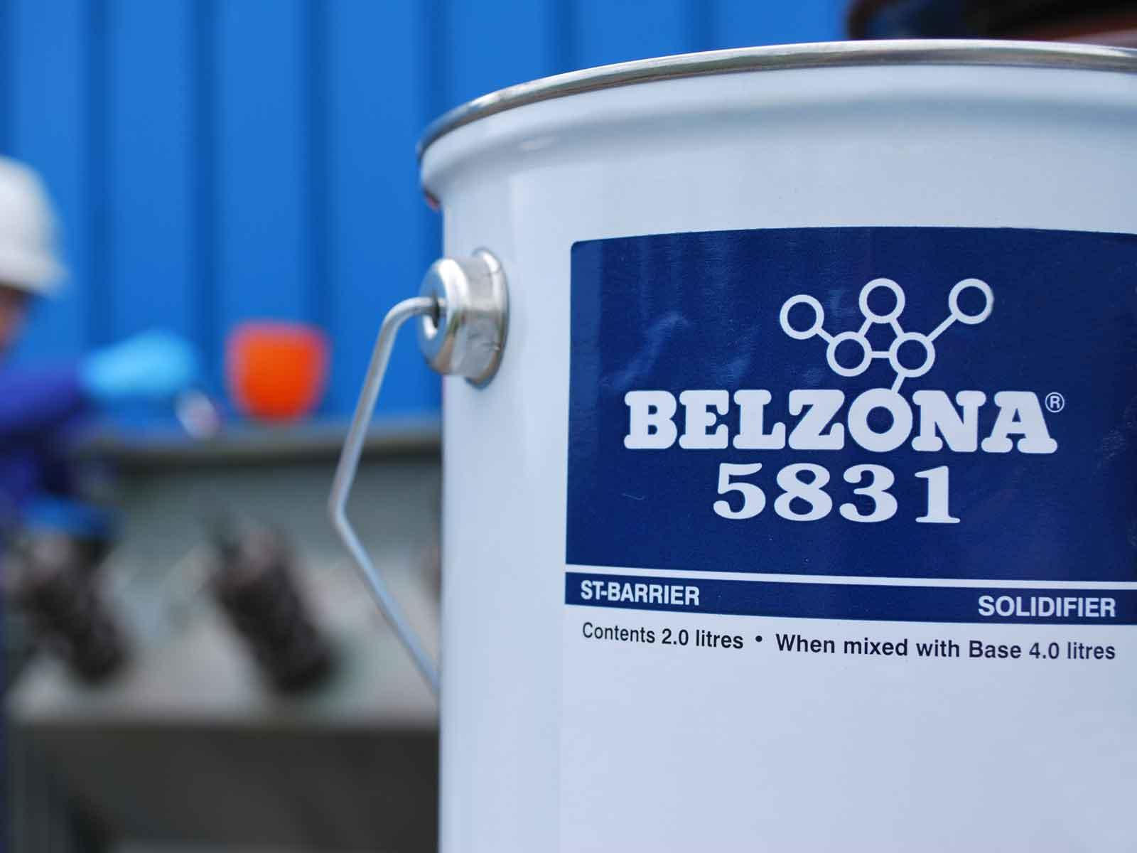Belzona 5831 (ST-Barrier) epoxy zaštitni premaz tolerantan na vlažne površine