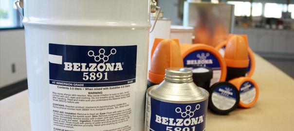 Belzona 5891 (HT Immersion Grade) epoxy premaz za zaštitu od korozije i kemikalija u visokotemperaturnim uronjenim uvijetima