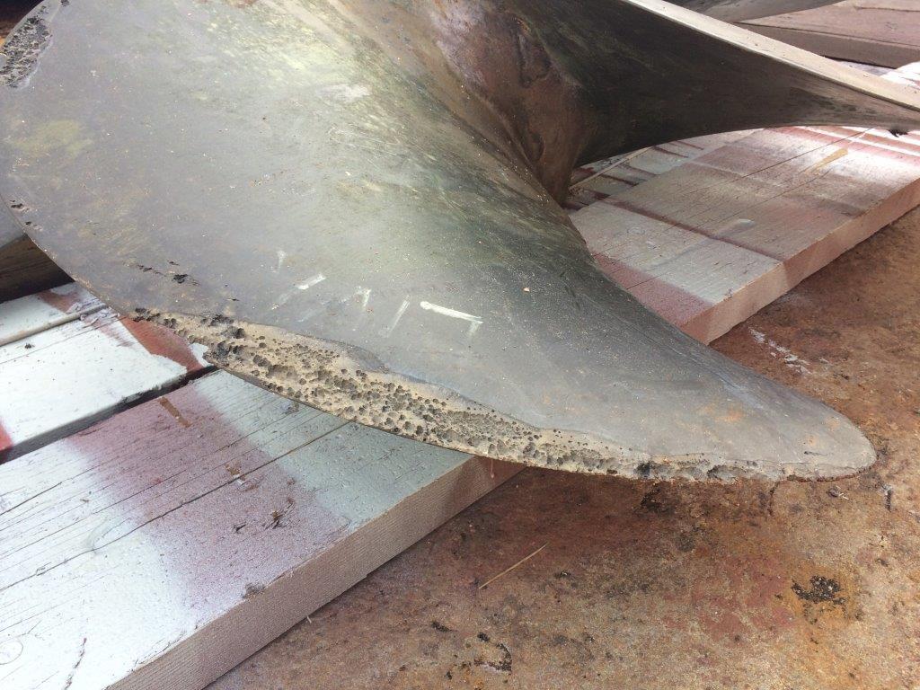 Popravak i zaštita propelera od kavitacije