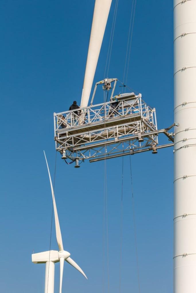 Održavanje lopatica turbine
