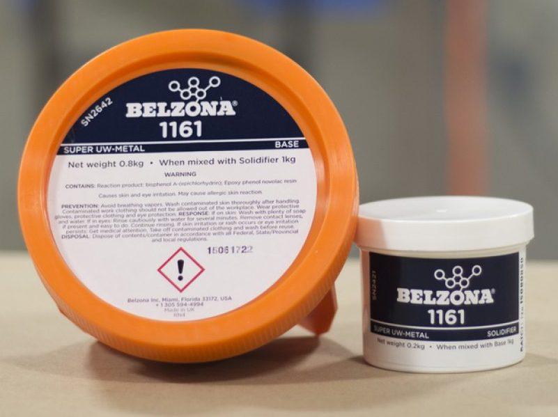 Belzona 1161 - kompozitni kit visoke adhezije na mokre i masne površine