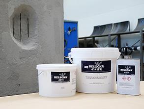 Belzona 4141FR je vatrootporni, lagani reparaturni kompozit za obnovu i zaštitu oštećenih vertikalnih i stropnih betonskih površina