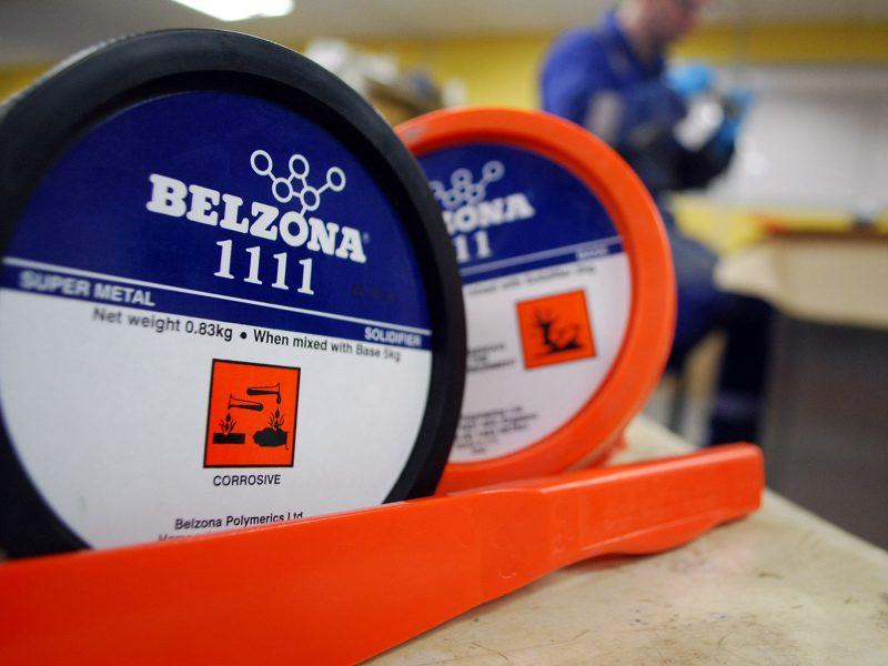 Belzona 1111 (Super Metal) obradiva smjesa za nadogradnju