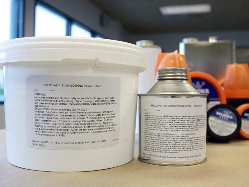 Belzona 1151 (Smoothing Metal) epoxy kompozit za nadogradnju depresija metalne površine uslijed erozije i korozije