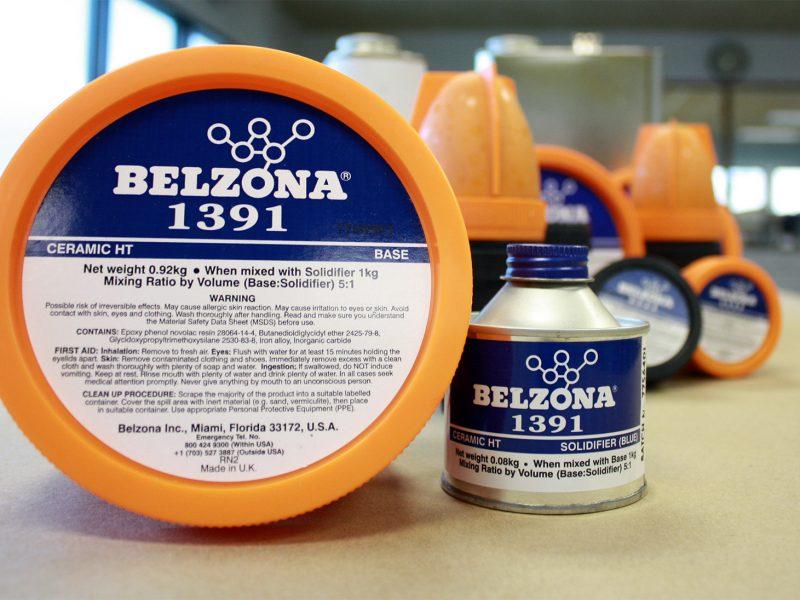 Belzona 1391 (Ceramic HT Metal) premaz otporan na eroziju i koroziju za opremu u visokotemperaturnim i uronjenim uvijetima rada