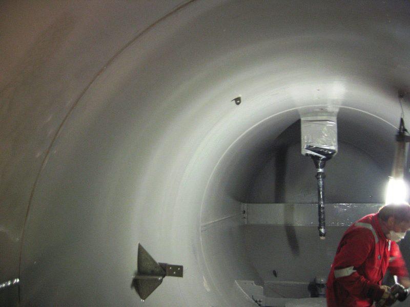 Belzona 1593 epoxy premaz za ručnu upotrebu otporan na visoke temperature, eroziju i koroziju opreme u stalno uronjenim uvijetima rada