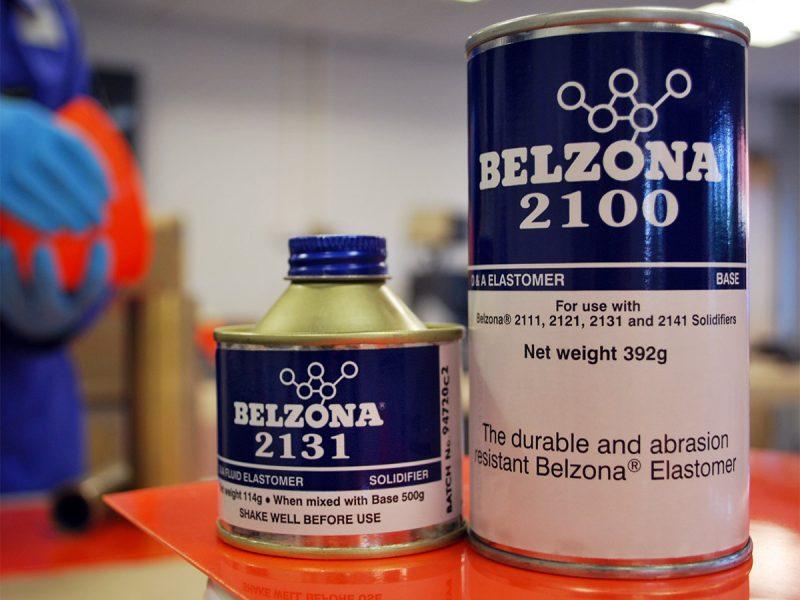 Belzona 2131 (D&A Fluid Elastomer) flaksibilan poliuretanski elastomer za odlijevanje gumenih komponenti i premaz metalnih i gumenih površina