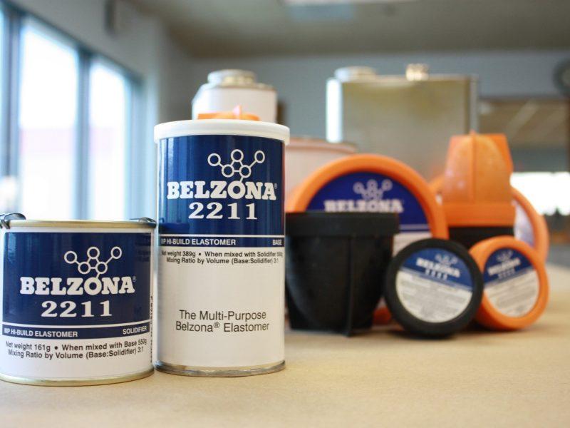 Belzona 2211 (MP Hi-Build Elastomer) elastomer otporan na abraziju za neravne površine