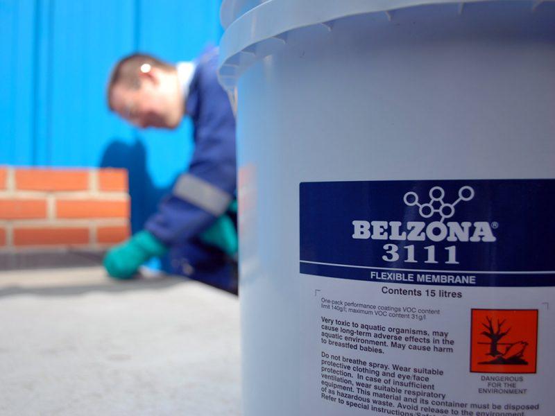 Belzona 3111 (Flexibile Membrane) jednokomponentan premaz za dugotrajnu zaštitu krova i hidroizolaciju