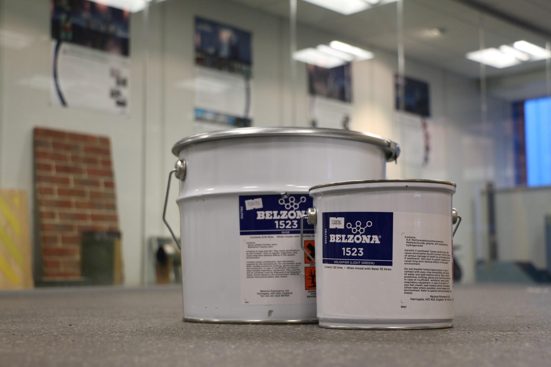 Belzona 1523 epoxy premaz za sprenjanje unutarnjih površina opreme u visokotemperaturnim uronjenium uvijetima rada iznimne otpornosti na koroziju