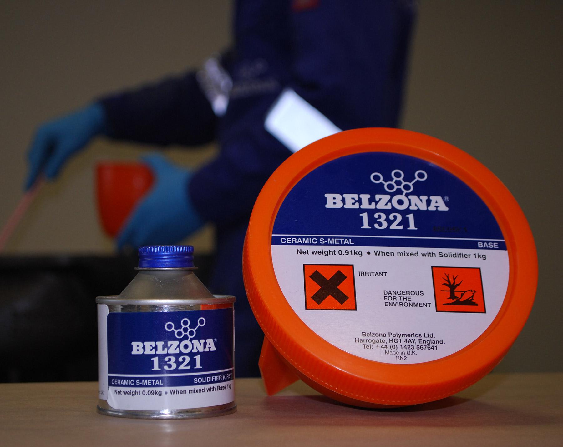 Belzona 1321 (Ceramic S-Metal) epoxy premaz punjen keramikom za zaštitu od erozije i korozije metalnih površina