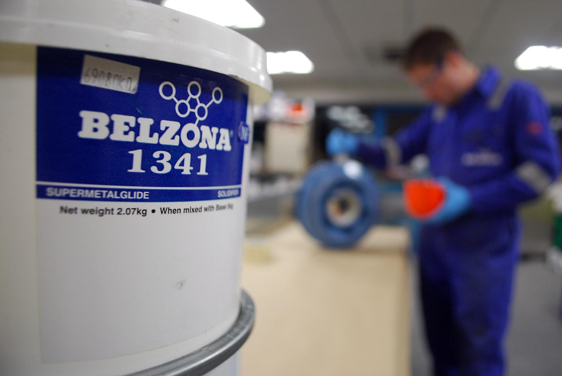 Belzona 1341 (Supermetalglide) epoxy premaz za povečanje efkasnosti pumpi, cijevovoda, ventila i druge protočne opreme iznimne zaštitu od erozije i korozije