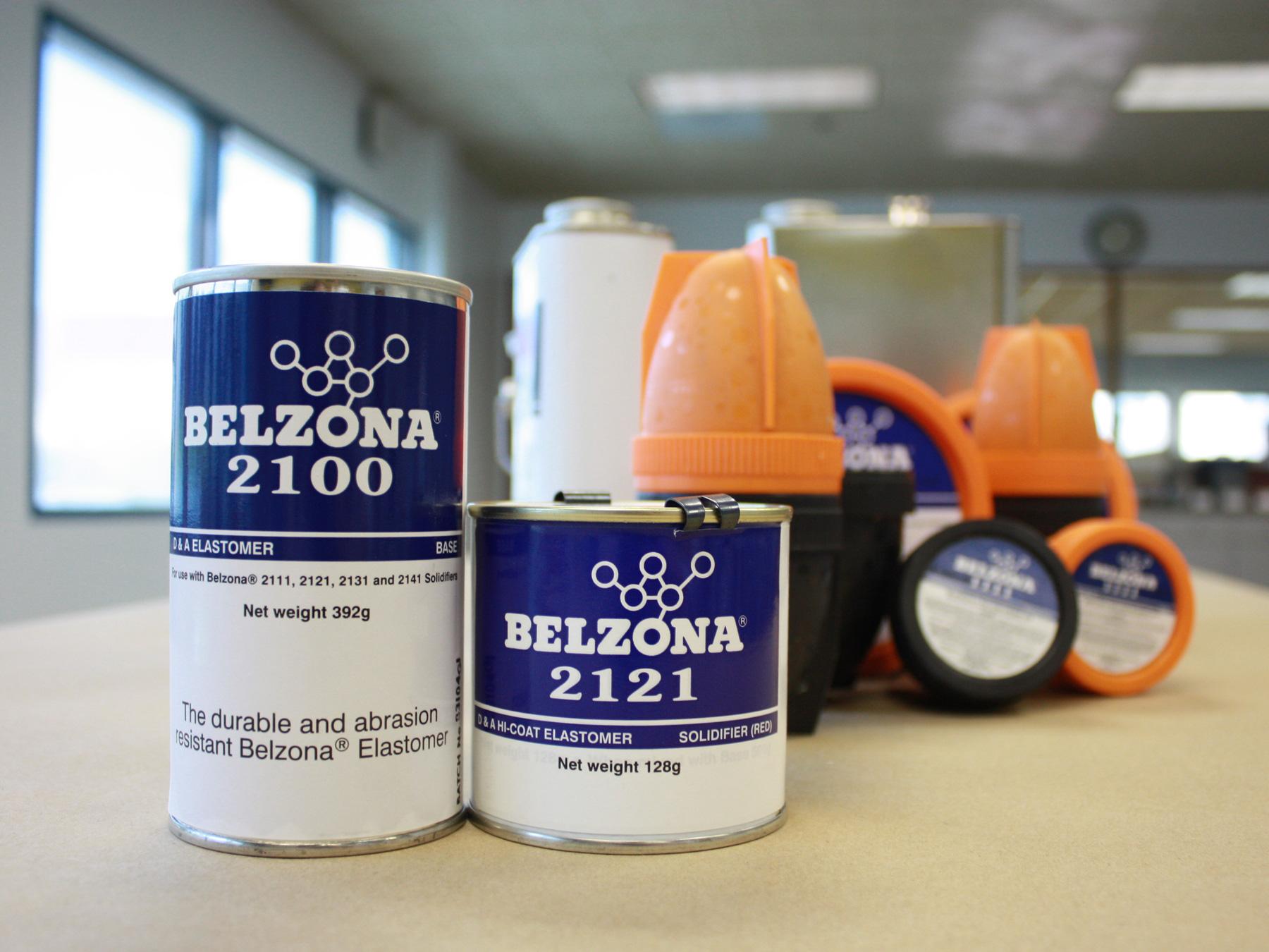 Belzona 2121 (D&A Hi-Coat Elastomer) flaksibilan poliuretanski elastomer otporan na abraziju za metane površine i gumene komponente