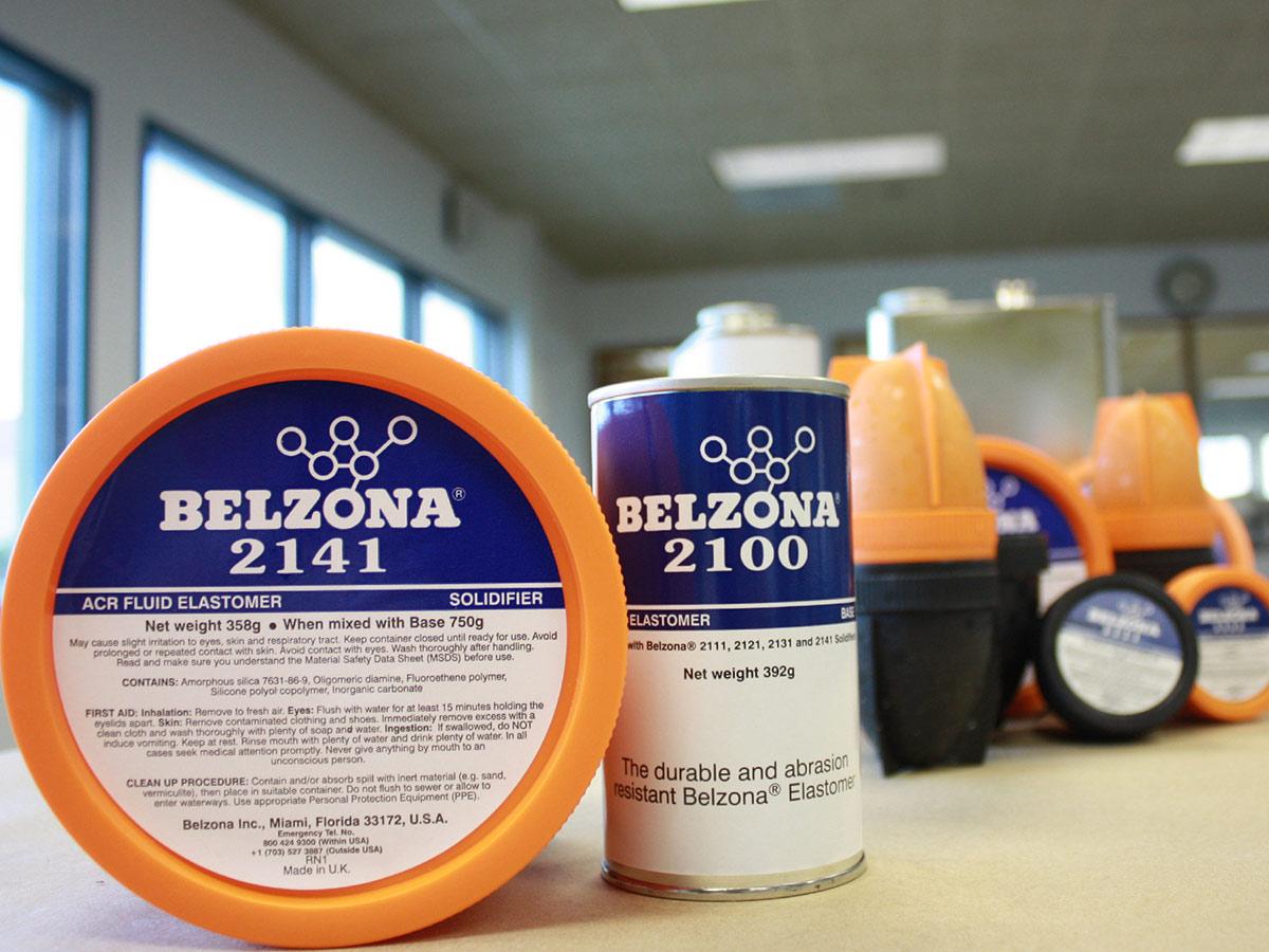 Belzona 2141 (ACR Elastomer) fleksibilan poliuretanski elastomer za zaštitu od kavitacije i abrazije metalnih i gumenih komponenti