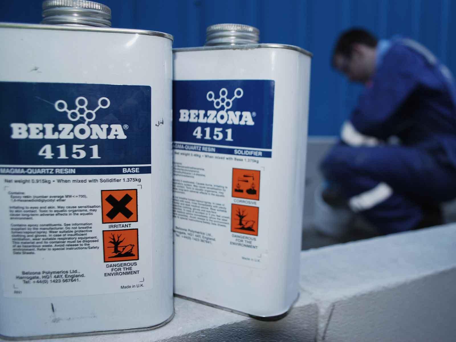 Belzona 4151 (Magma-Quartz Resin) epoxy smola za zaštitu betonskih površina od kemikalija i abrazije