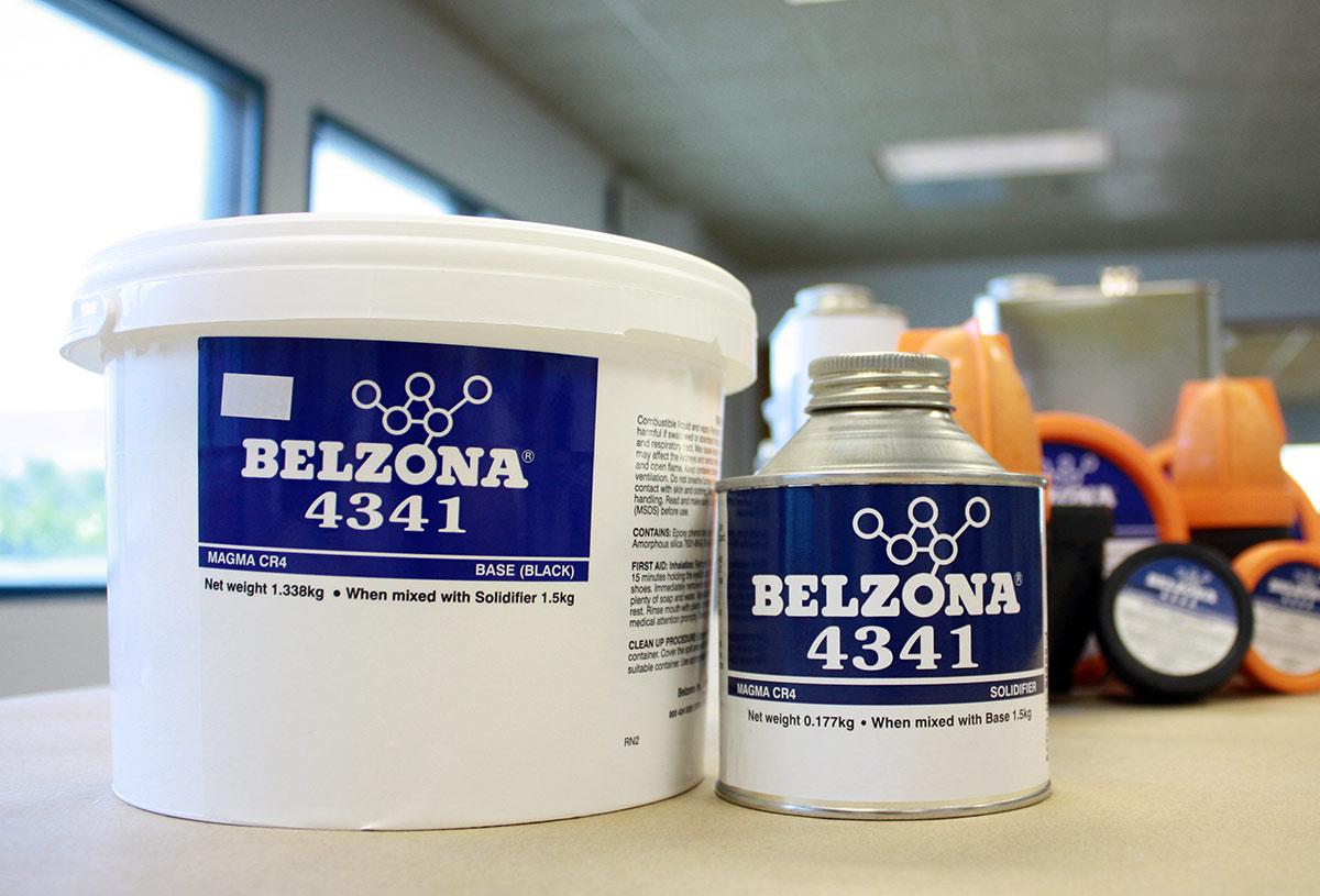 Belzona 4341 (Magma CR4) visokotemperaturni epoxy prmaz za betonske i metalne površine koje su u kontaktu sa vrućim inorganskim kiselinama