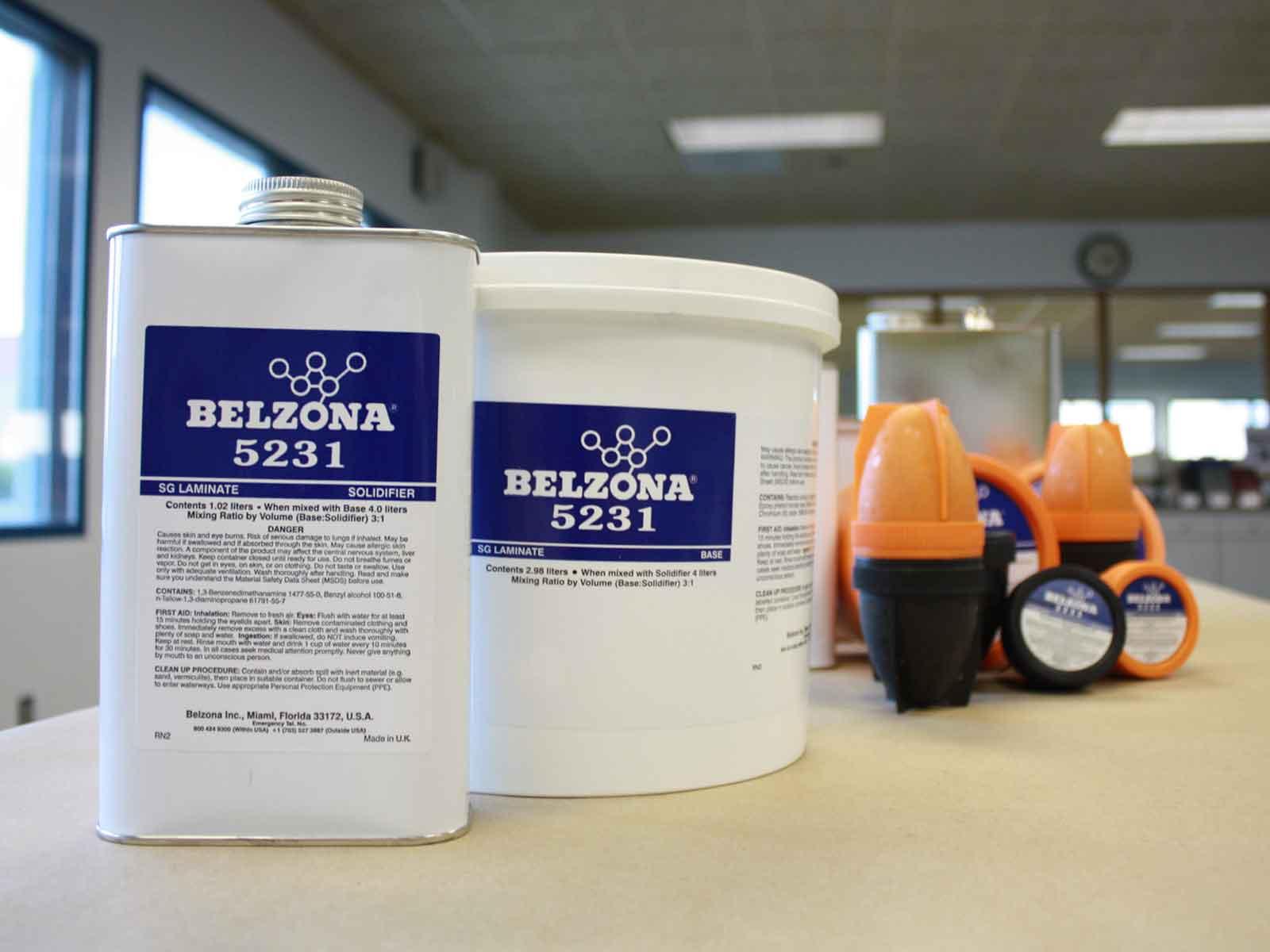 Belzona 5231 (SG Laminate) protuklizni epoksidni premaz za zaštitu od kemikalijja