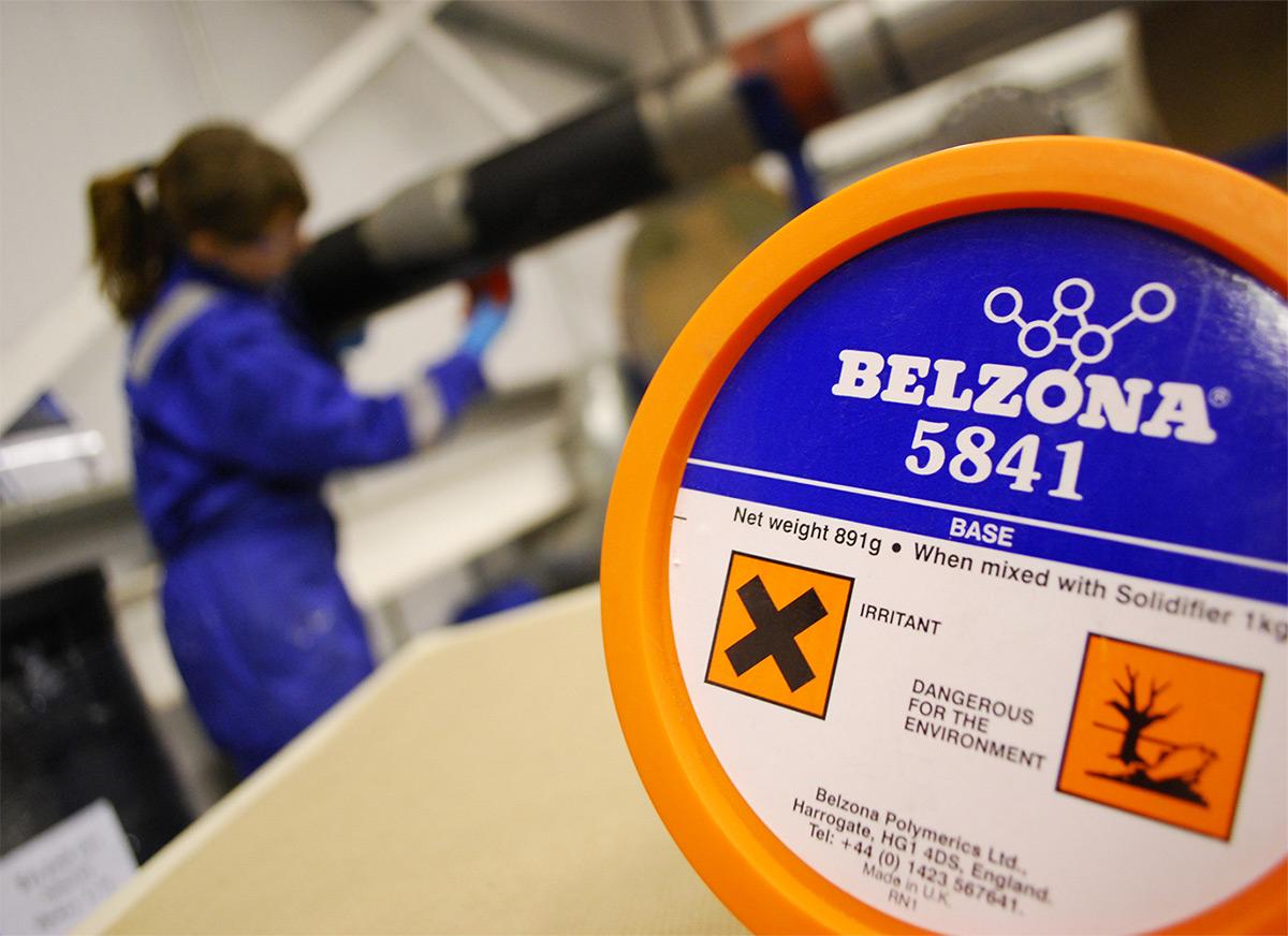 Belzona 5841 epoksi premaz za zaštitu od korozije pod izolacijom