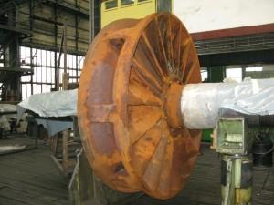 Popravak i zaštita od korozije dinamometra broskog motora