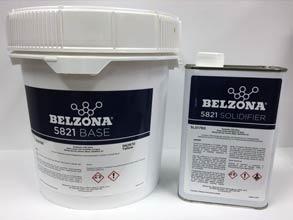Belzona 5821 epoksi premaz bez otapala, nanosi se četkom ili sprejom za zaštitu metalnih i nemetalnih površina u uronjenim uvijetima